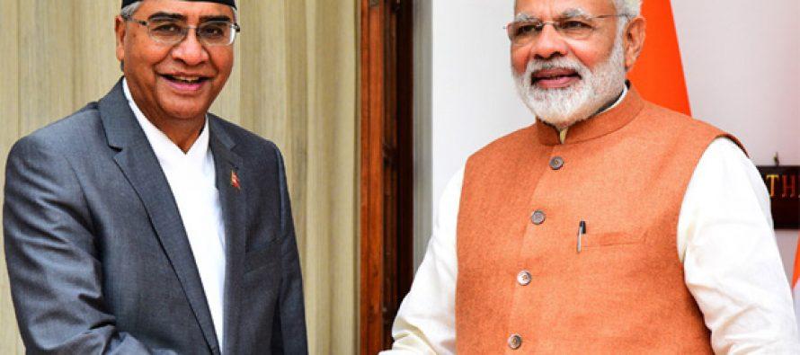 Nepal-India defence cooperation interdependent : PM Modi