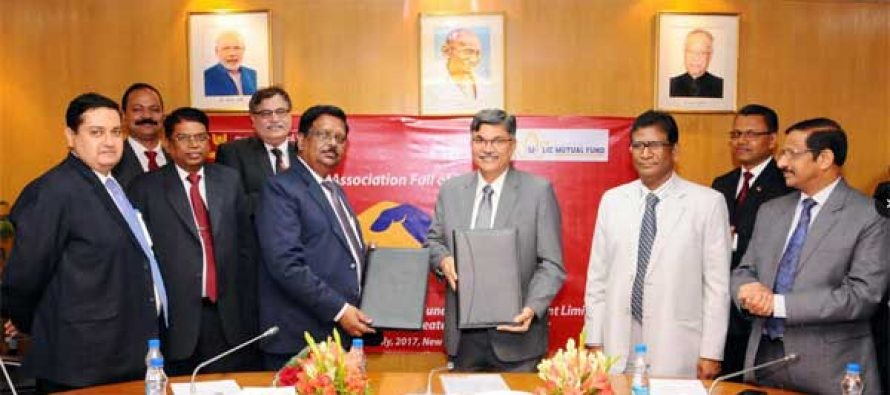 PNB ENTERS INTO  TIE-UPs WITH FOUR MUTUAL FUND ASSET MANAGEMENT COMPANIES (AMCs)