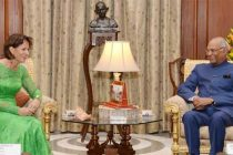 President invites Swiss firms to join India initiatives