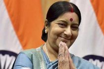 Sushma calls on Canadian PM