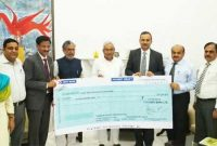Oil PSUs contributes Rs 15 cr to Bihar Chief Minister Relief Fund