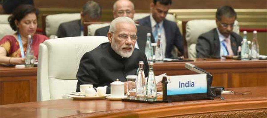Modi emphasizes BRICS cooperation for peace, development