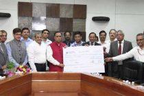 Oil PSUs contribute Rs 15 crores towards Gujarat CM Flood Relief Fund