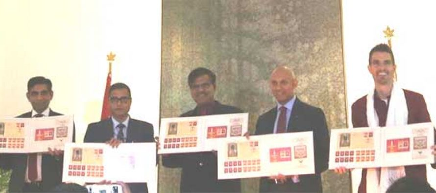 Canada-India joint stamp on Diwali released