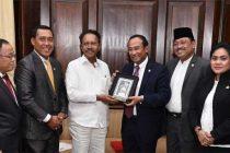 An Indonesia-India Parliamentary Friendship Group led by Satya Widya Yudha, Chairman of the Group calls on Deputy Speaker, Lok Sabha