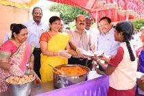 """Dr S.K Acharya CMD, NLCIL inaugurates NLCIL """"Free Breakfast Scheme"""""""