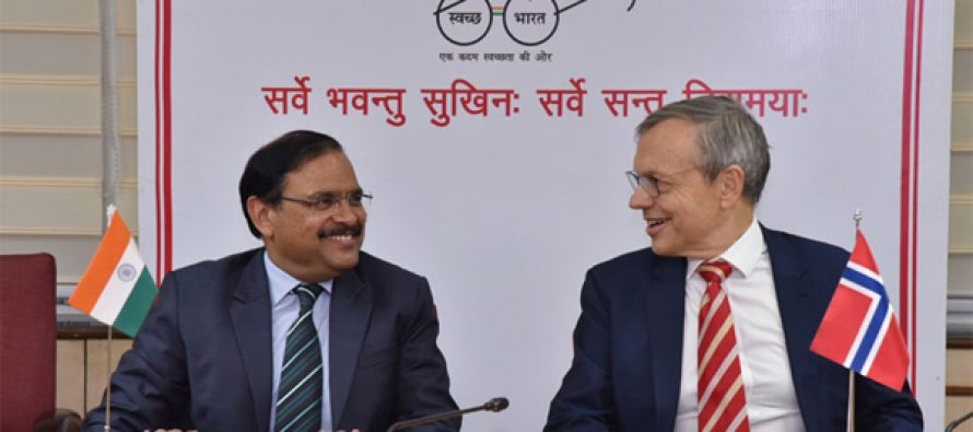 The Secretary (Health and Family Welfare), C.K. Mishra and the Ambassador of the Norway to India, Nils Ragnar Kamsvag