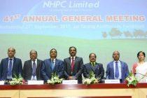 NHPC hosts 41st  Annual General Meeting