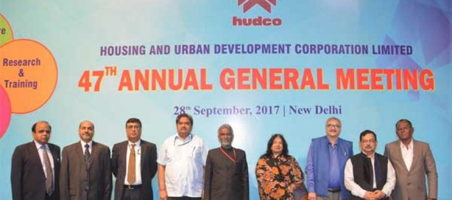 HUDCO, the 47th Annual General Meeting was held at Sirifort Auditorium