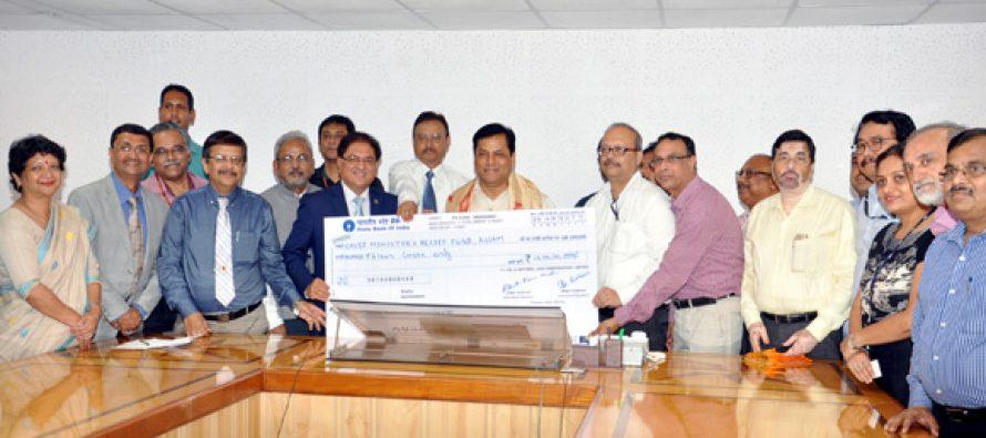 Oil PSUs contribute Rs 15 crores towards Assam CM Flood Relief Fund