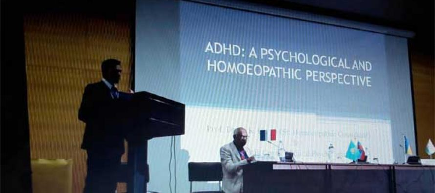 """ADHD (Attention Deficit Hyperactive Disorder) – Psychological & Homoeopathic Perspective Presented in 26th International Conference of AHML held at Almaty,Kazakhstan  Theme """"Homoeopathy Is Evidence Based Medicine"""""""