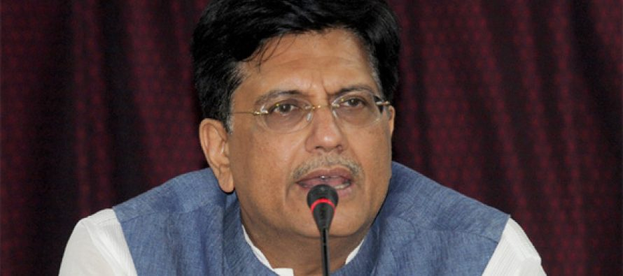 Piyush Goyal Minister for Railways and Commerce & Industry and Consumer Affairs, Food & Public Distribution reviews the progress of various sections under completion in DFC on both East and West corridor