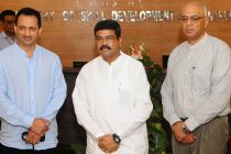 Dharmendra Pradhan assume charge as Minister of Skill Development and Entrepreneurship, to bring scale and speed to India's Skill Mission