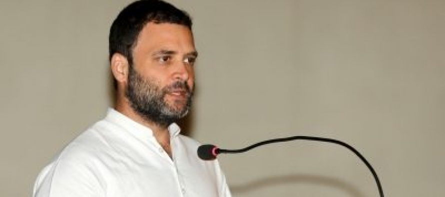 Demonetisation, GST broke textile hub Surat's legs, says Rahul Gandhi