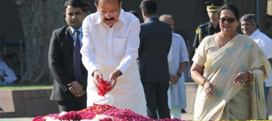 President, PM pays tribute to Shastri on 113th birth anniversary