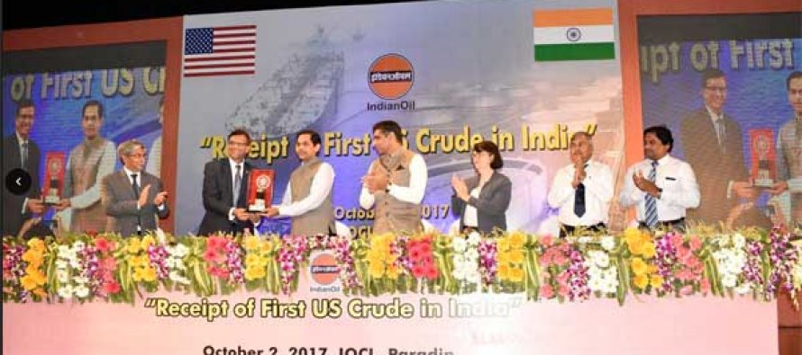 IndianOil receives first crude oil cargo from the US