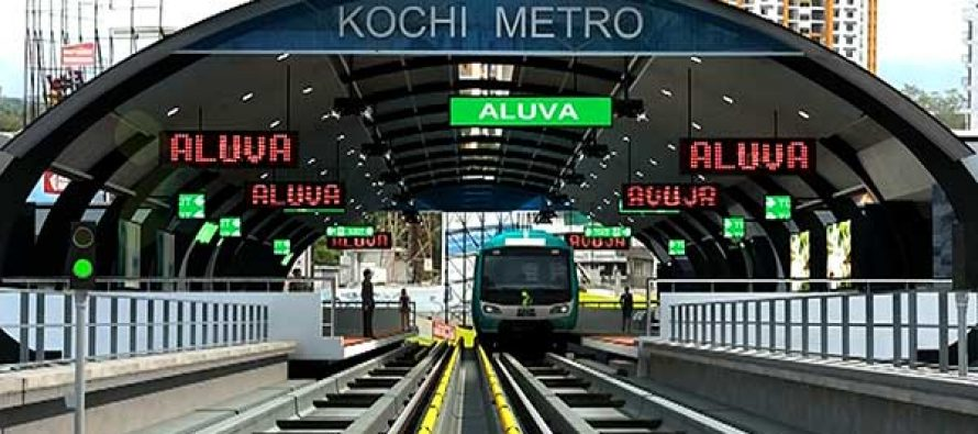 Kochi Metro first phase becomes fully operational