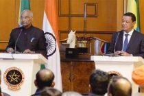In Ethiopia, Kovind cites India's investments