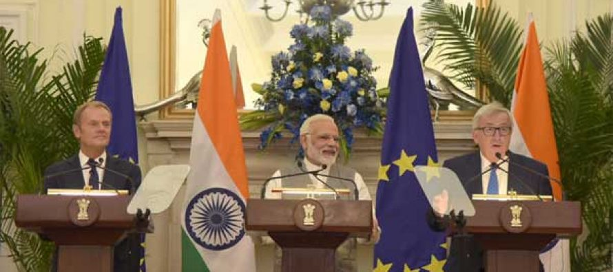 India, EU to fight terror, talk on free trade