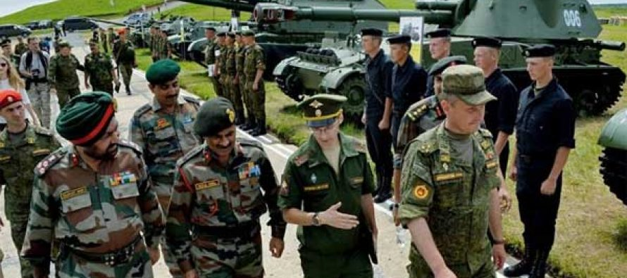 India, Russia to begin annual joint military exercise