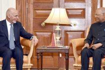 Afghan President arrives in India, meets Kovind