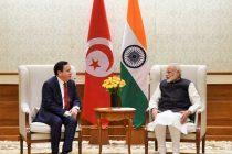 Tunisian Foreign Minister on India visit, calls on Modi
