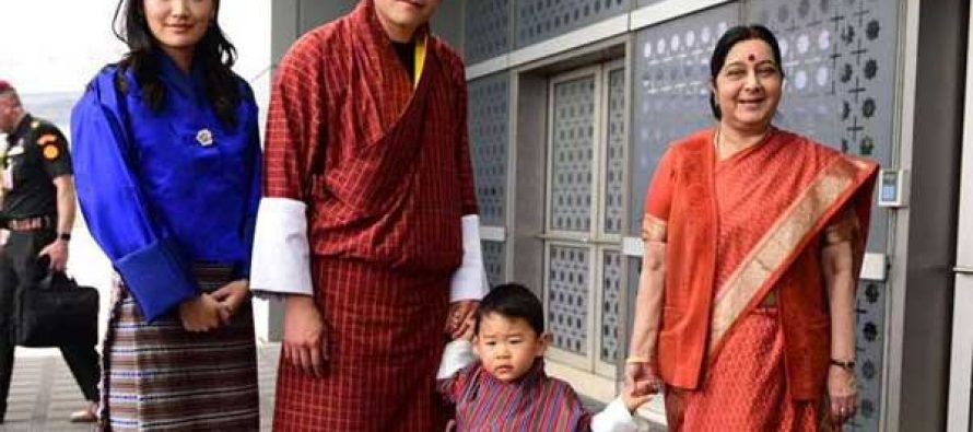 Post-Doklam, Bhutanese King arrives on four-day India visit
