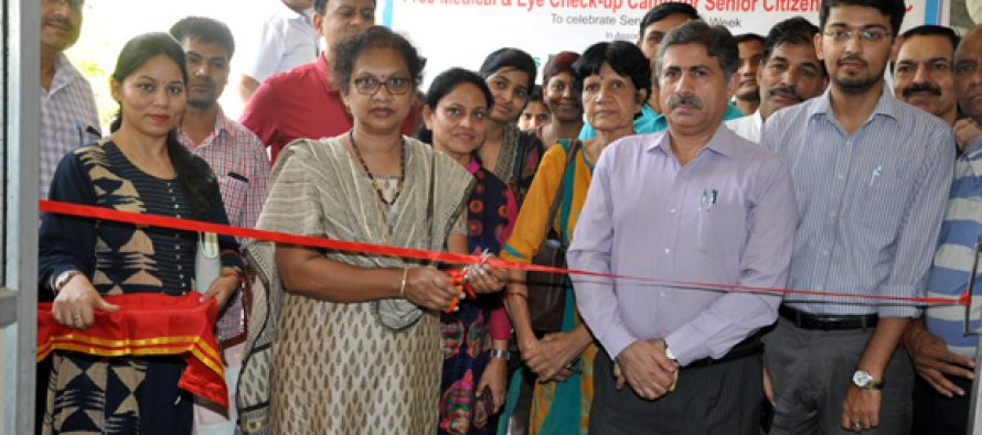 NHPC organizes Free Medical & Eye Check-up Camp and Cultural Programme for Senior Citizens