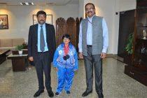 Arunachalam Nalini wins Bronze Medals at International Para Athletic Championship 2017