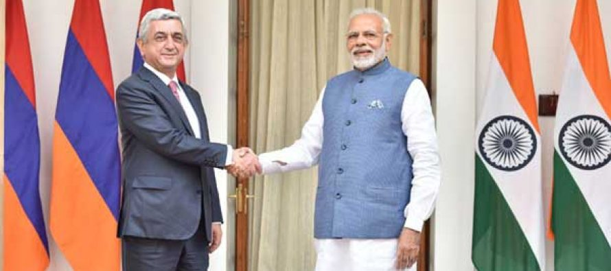 Modi meets Armenian President