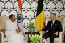 Vice President, M. Venkaiah Naidu calling on His Majesty The King Philippe of Belgium,