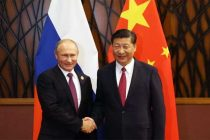 Xi, Putin exchange New Year greetings