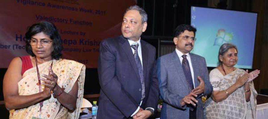 REC Celebrated Vigilance Awareness Week -2017