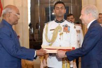 Envoys of Three Nations Present Credentials to President of India