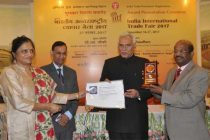 Ministry of Power wins Silver Medal at India International Trade Fair 2017