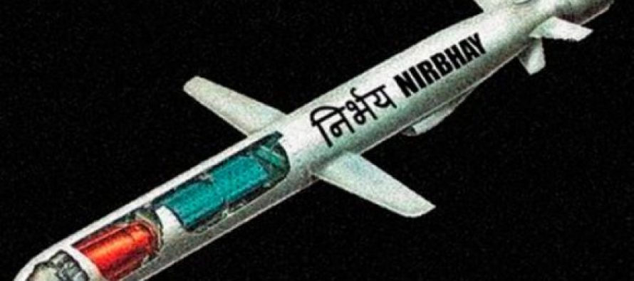 India's subsonic cruise missile Nirbhay ready for fifth trial