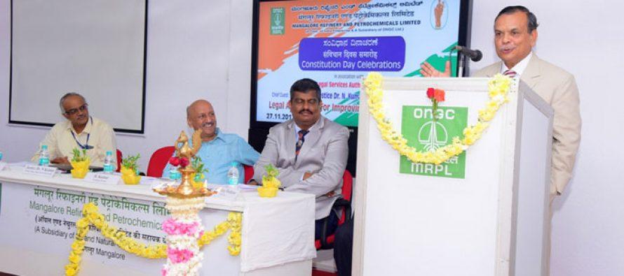 Constitution Day observed in MRPL