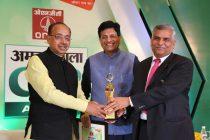 "PFC receiving the prestigious ""CSR Award"""