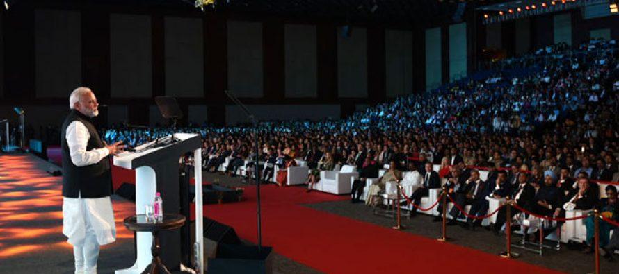 PM Modi hard sells India at Global Entrepreneurship Summit