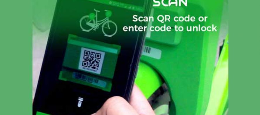 Mobycy launches dockless bike-sharing service app