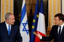 Macron tells Netanyahu to 'give chance' to peace