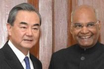 Wang Yi, Foreign Minster of the Poeple's Republic of China called on The President of India, Ram Nath Kovind