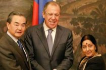 Russia, India, China hold trilateral meeting