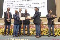 Highest Achiever Award for Mejia Power Plant of DVC