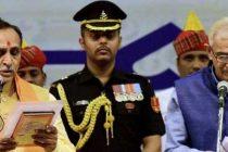 Rupani takes oath as Gujarat CM, Nitin Patel as Dy CM