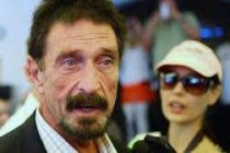 Cyber security pioneer John McAfee's Twitter account hacked