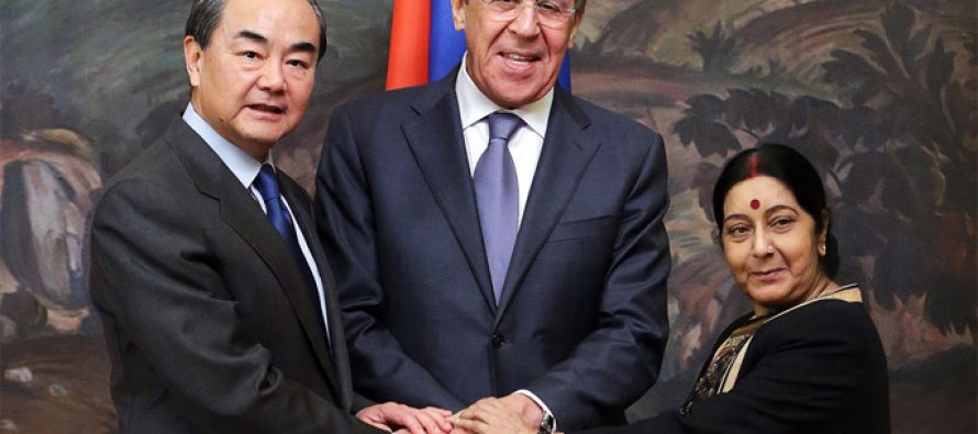 Foreign Ministers of Russia, India and China to meet in New Delhi on Dec 11