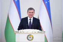 PRESIDENT OF UZBEKISTAN SHAVKAT MIRZIYOYEV ADDRESSES THE OLIY MAJLIS