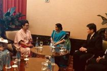 Sushma meets new Asean Secretary General