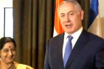 Sushma calls on Israeli PM